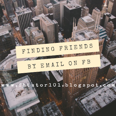 Finding Friends By Email on Facebook