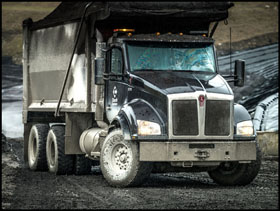 Charah Solutions Kenworth T880