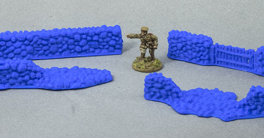 15mm terrain: Stone Wall Sections