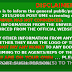 UNIABUJA Pre-Admission Screening Registration Exercise 2016/2017 Is Fraud/Scam- Read This