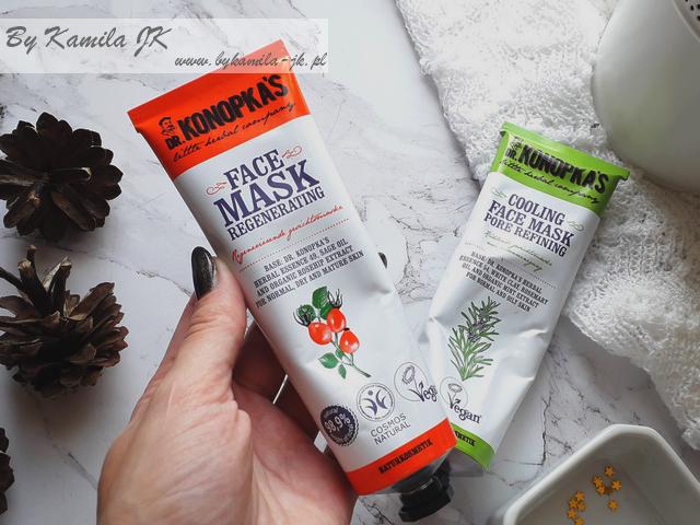 Dr. Konopka's naturalne kosmetyki estonia maseczka do twarzy regenerująca z dziką różą