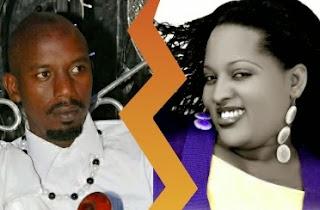 Umuririmbyi Aline Gahongayire n'umugabo we Gahima Gabriel
