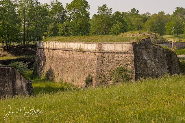 Neuf-Brisach — Réduit de demi-lune 23 (plein-revêtement)
