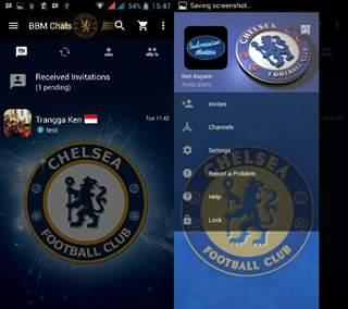 BBM Mod Chelsea 3.0.0.18 Terbaru