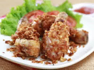 resep makan sahur Ayam Goreng Jagung