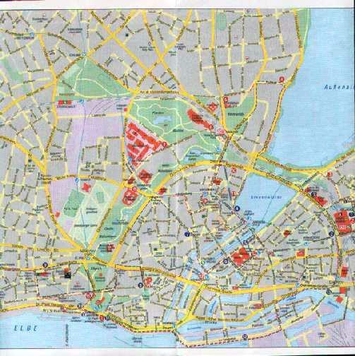 Hamburg Map Germany - Free Printable Maps