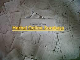 Bukti nomor resi jne pengiriman dari herbal online surabaya