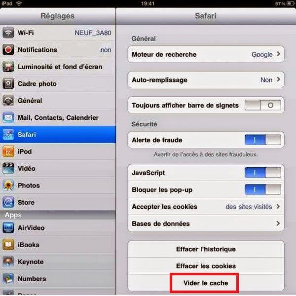 comment enregistrer un cv sur ipad