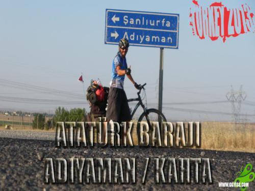 2013/08/19 Turkey2013 36. Gün (Şanlıurfa/Atatürk Barajı - Adıyaman/Kahta)
