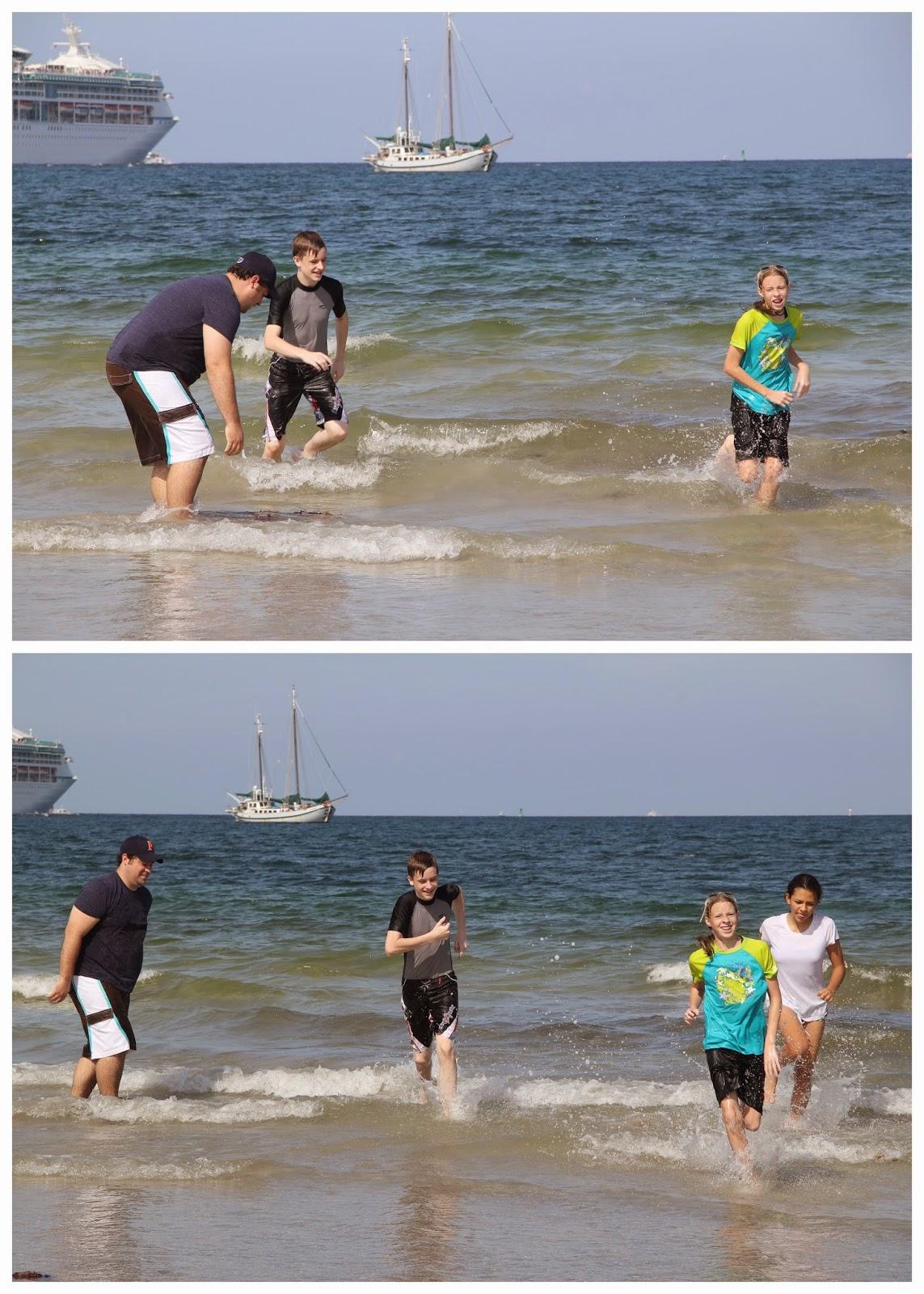 Funny Fat Kid On Beach : funny, beach, Loves, Cake:, Lloyd, Beach, Cousins