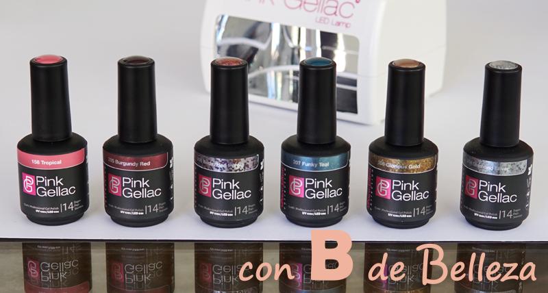 Esmaltes de uñas Pink Gellac