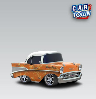 Chevrolet Bel Air 1957 Floral