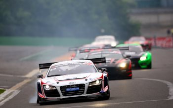 Wallpaper: Audi racing cars