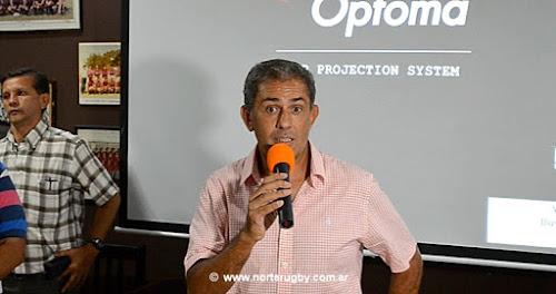 Carlos Martearena, asumió como presidente de la Unión de Rugby de Salta