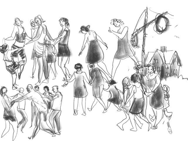 Midsummer gestures by Ulf Artmagenta