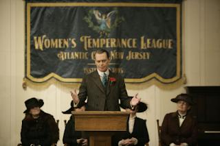 Le mafieux et la ligue d'abstinence dans Boardwalk Empire