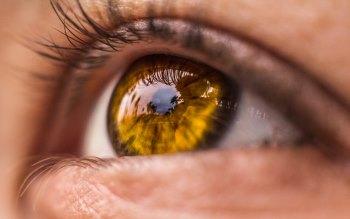 Wallpaper: Macro. Lashes. Iris. Pupil. Eye