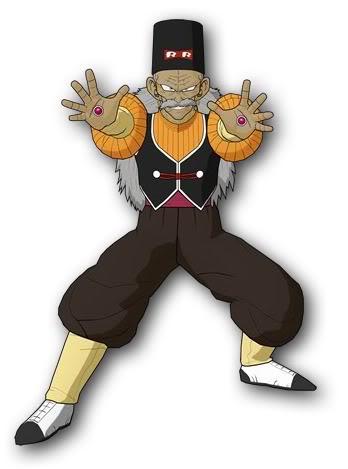 Dragon Ball Characters Doctor Gero Dragonball Dbz Gt