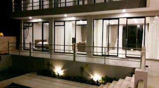 Villa Sky View Lembang Malam Hari
