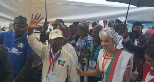 Photos From APC National Convention In Abuja
