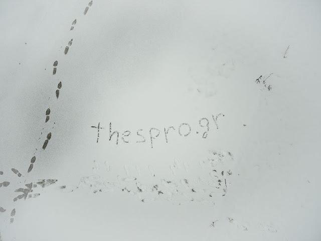 Πτήση με drone πάνω από την χιονισμένη Ηγουμενίτσα (ΒΙΝΤΕΟ)