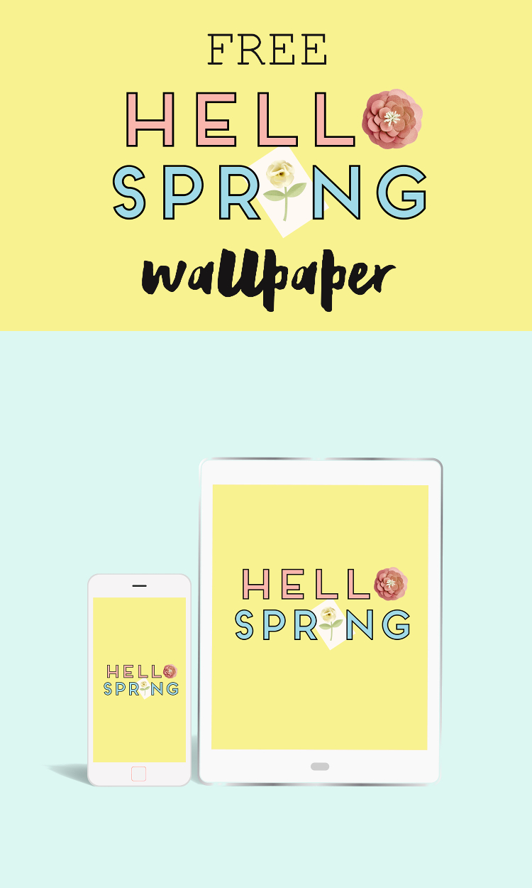 FREE 'HELLO SPRING' DESKTOP WALLPAPERS.