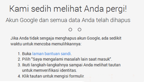 Cara Mudah Menghapus Akun Google atau Gmail Permanen - Mudah Lo