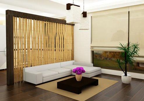 50 desain sekat ruangan minimalis (sekat ruang tamu