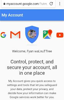 Melihat isi akun Google kita