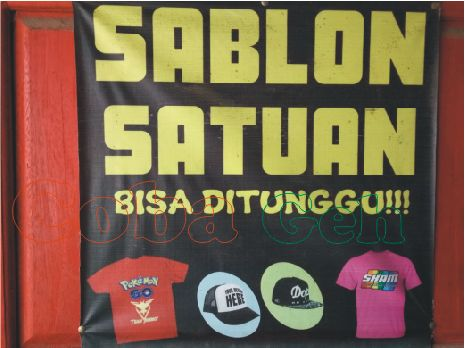 Sablon Kaos Murah Berkualitas Bisa Satuan di Pringsewu Lampung Coba geh