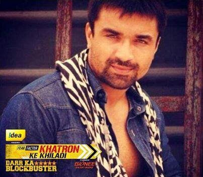Azaj Khan in Fear Factor Khatron Ke Khiladi