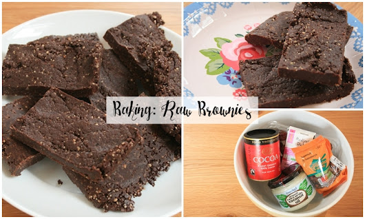 Baking: Raw and Healthy No-Bake Brownies