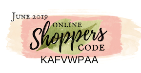 June 2019 Online Shoppers Code for my customers
