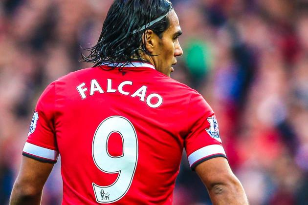 Players has Taken the No.9 at Manchester United - Falcao