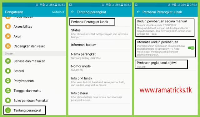 3 Cara Mudah Upgrade OS Android