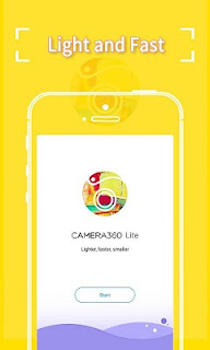 Tải Ứng Dụng Camera360 Lite Siêu Nhỏ Gọn Cho Android