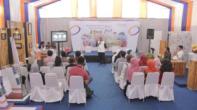 [Blogger Medan x Durian April] Storytelling, Merefleksikan Hal Sederhana menjadi Kisah Istimewa bersama Bank Sumut