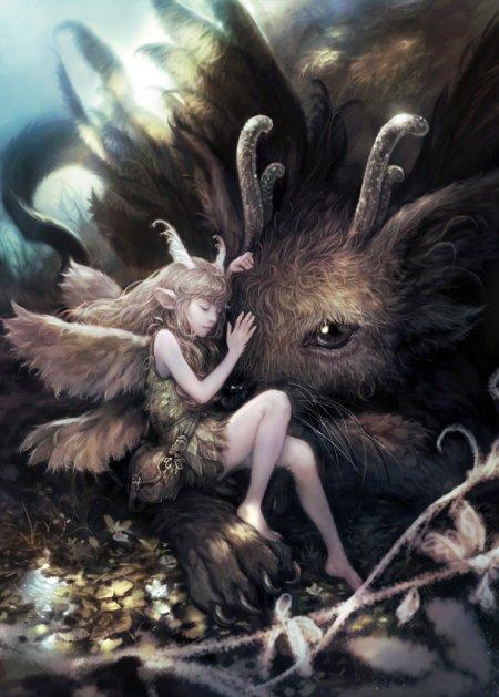 lee seung hee ilustração arte conceitual games fantasia