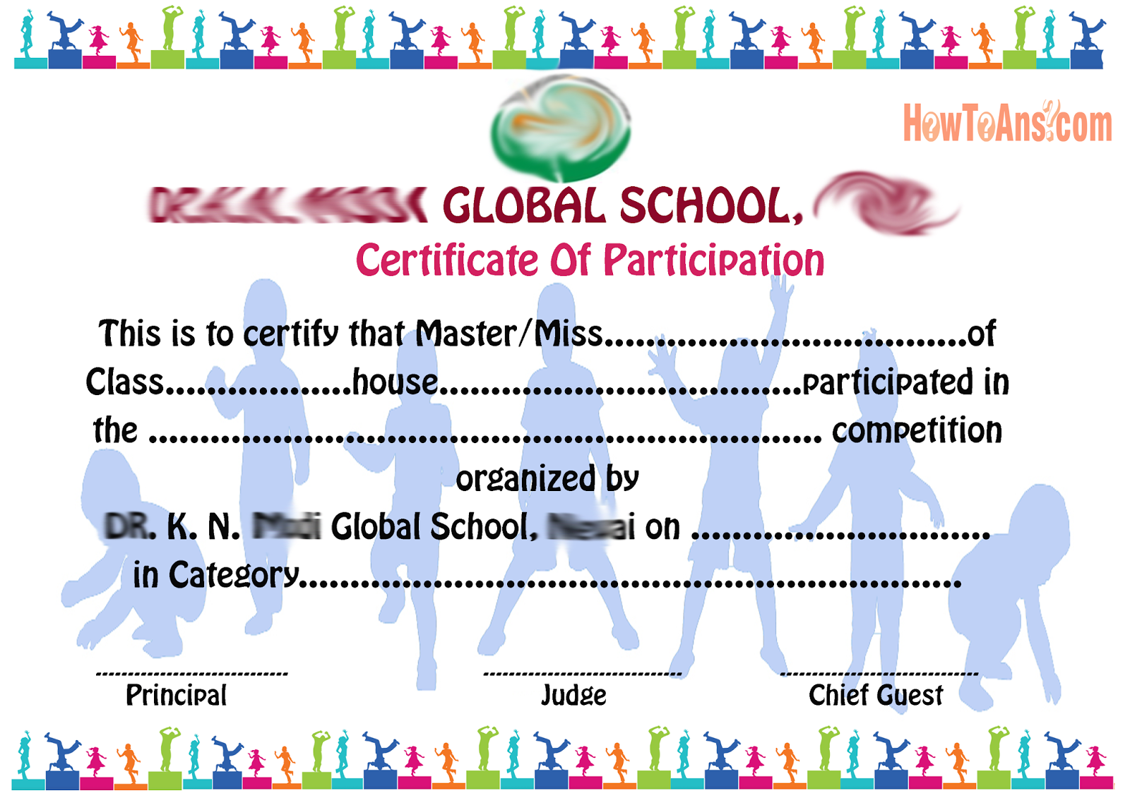 How To Design Certificates  Design Of Certificate Of Participation