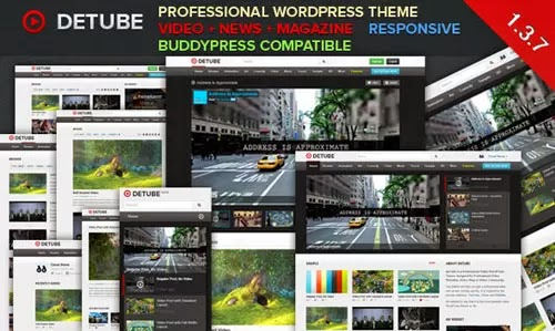 dtube wordpress theme