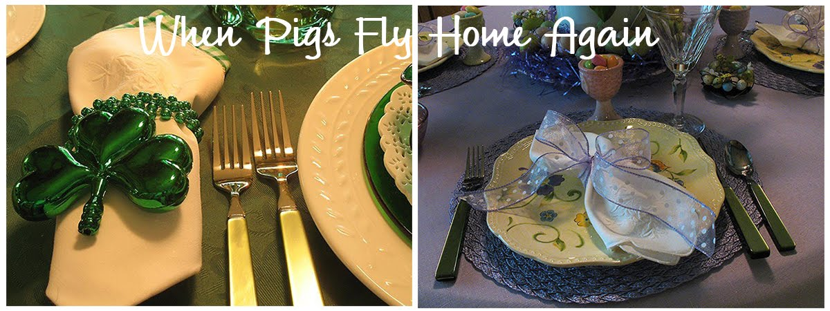 When Pigs Fly Home Again