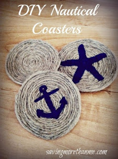 DIY Natural Coasters