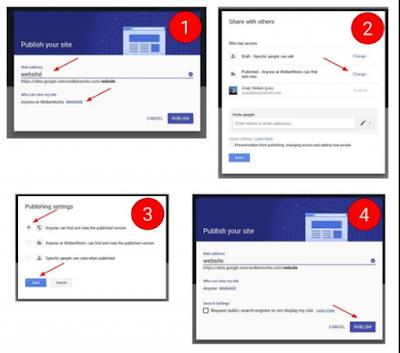 Buat Google Sites baru