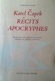 Récits apocryphes - Karel Čapek