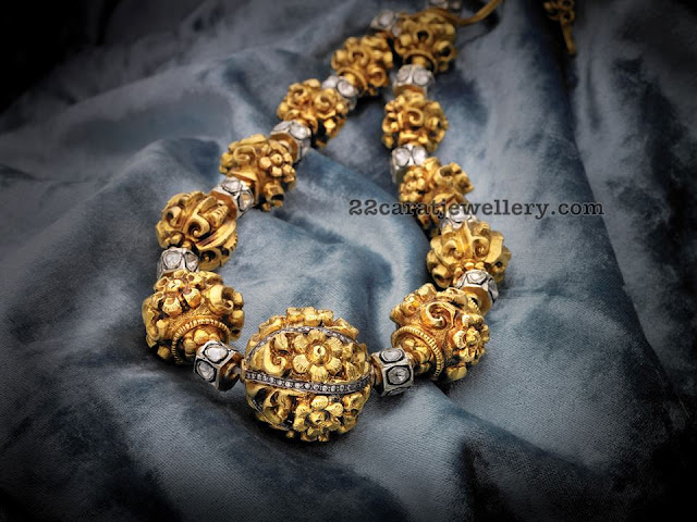 Floral Nakshi Beads Set