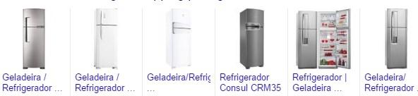 Promoção de Geladeira Refrigerador nas Lojas Americanas