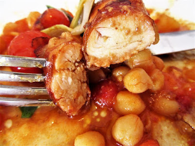 Ćušpajz (varivo) od slanutka / Chickpea stew