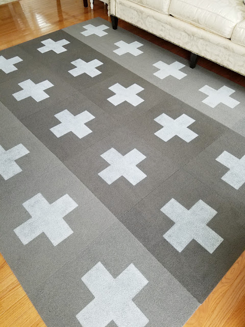 Nordic style, Scandinavian, diy, paint, tape, living room, blogger projects