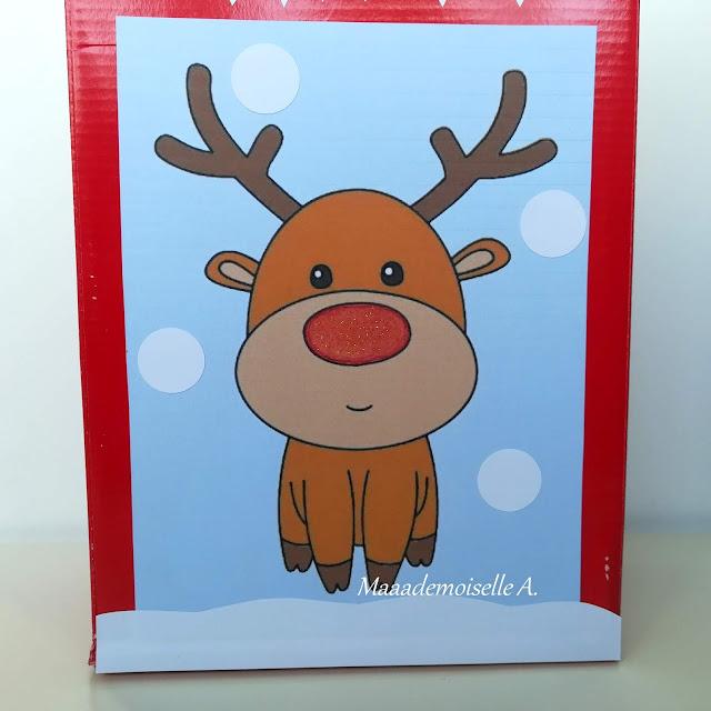 || DIY : Une boite à lettres de Noël pour calendrier de l'Avent