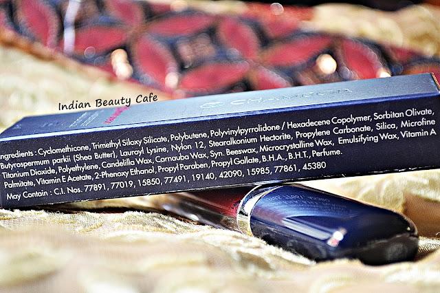 Chambor Extreme Wear Transfer Proof Liquid Lipstick Ingredients